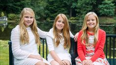 The Dutch Royal Family has released new photos of the princesses Amalia,...
