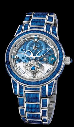 Ulysse Nardin - Royal Blue Tourbillon Haute Joaillerie Limited Edition (ø 43мм)