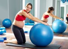 Stability Ball Workout For Pregnant Women – Part Two