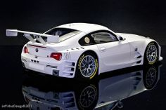 BMW Z-4 Coupe race car