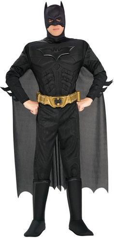 026a2ae10f Batman The Dark Knight Rises Muscle Chest Deluxe Adult Costume  Unbranded  Spirit Halloween