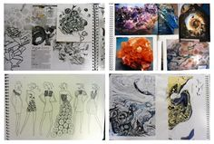 fashion sketch book pages