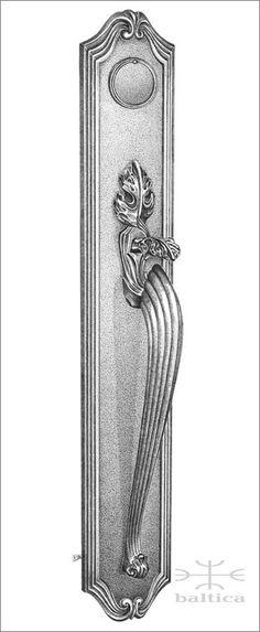 Chartres thumblatch II  Custom Door Hardware  www.balticacustomhardware.com