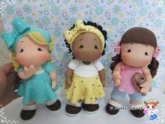 Boneca em biscuit