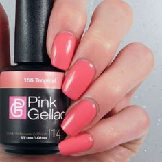 B Nailed To Perfection: Pink Gellac Swatch and Review