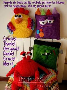 Ché! Crochet: Cumpliendo años...