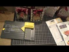 ▶ Christmas Gift Bags using the We R Memory Keepers Gift Bag Punch Board - YouTube