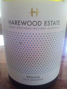 #HarewoodEstate Reserve #Riesling 2013  (#RNAWA13)