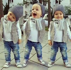 Baby Boy Winter Fashion — (12 pictures) https://www.facebook.com/Stylisheve/posts/1035920396448541