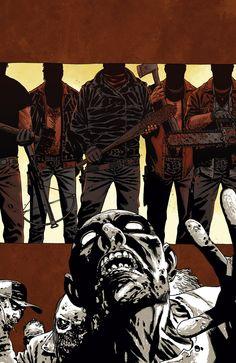 Cover Art for The Walking Dead Volume 17