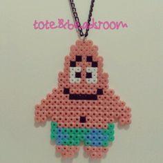 Patrick SpongeBob hama beads by totebeadsroom