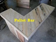 Terry in the Garage: Pallet Bar, Part 1 - YouTube