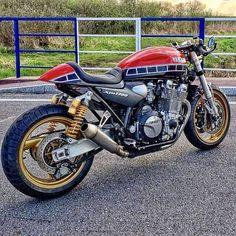 Garage Project Motorcycles Virago Cafe Racer, Yamaha Cafe Racer, Yamaha Virago, Cafe Bike, Cafe Racer Motorcycle, Racing Motorcycles, Custom Motorcycles, Custom Bikes, Custom Choppers