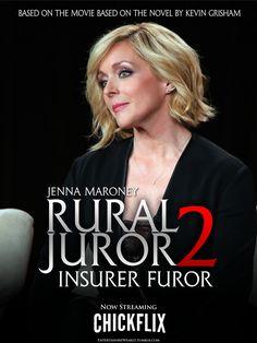 Rural Juror 2: Insurer Furor movie poster 30 Rock, Movie Tv, Pop Culture, Novels, Fiction, Romance Novels