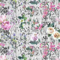 Majolica Slate Wallpaper | Designers Guild