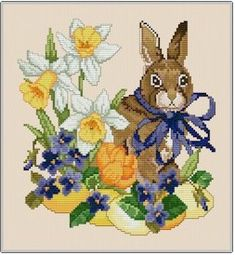 Easter - Cross Stitch Patterns  Kits