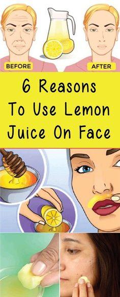 6 Reasons To Use Lemon Juice On Face – Healthy Me Shape