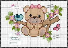 Cross Stitch Letters, Cute Cross Stitch, Cross Stitch Borders, Cross Stitch Charts, Cross Stitching, Cross Stitch Embroidery, Hand Embroidery, Cross Patterns, Stitch Patterns