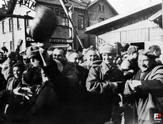 The liberation of the Auschwitz concentration camp, January 27, 1945