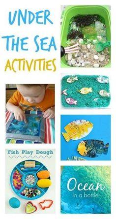 under the sea activities :: fish craft :: ocean craft :: ocean unit for preschool