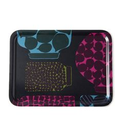 Purnukka Serving Tray and Placemat, Tableware by Marimekko