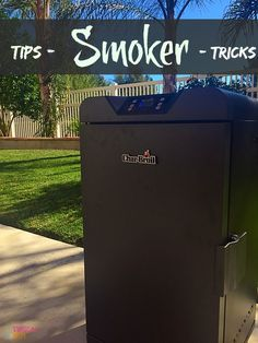 Easy electric smoker recipes are here. Tips on how to use an electric smoker and easy marinades for fish, beef, and chicken too. #charbroilsmoker ad