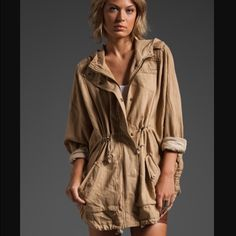 Free People Anorak poncho NWT Totally adorable! Looks as great in person as it does on the model… It's a small, but can certainly fit a medium as well! ❌No trades. Free People Jackets & Coats