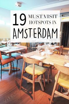 "Amsterdam has many hotspots! Want to know where these bars, cafes & restaurants are? Check the list with tips on http://www.yourlittleblackbook.me & go visit these hotspots yourself! Planning a trip to Amsterdam? Check http://www.yourlittleblackbook.me/ & download ""The Amsterdam City Guide app"" for Android & iOs with over 550 hotspots: https://itunes.apple.com/us/app/amsterdam-cityguide-yourlbb/id1066913884?mt=8 or https://play.google.com/store/apps/details?id=com.app.r3914JB"