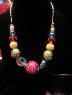 Happy Colors Necklace Etsy jewelsbyyvonne