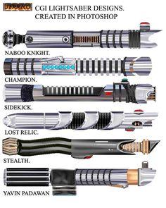 lightsaber hilt designs Lightsaber montage 1 by