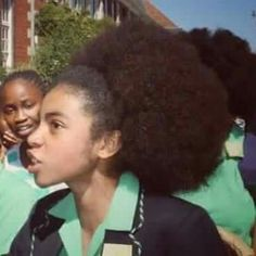 """This young hero, Zulaikha, along with her peers has proven that SA's future is in good hands! 22 years into """"Democracy"""" young children have to defend their identities in the face of white supremacy projected by """"model C""""/private schools policies!   Viva to the AFRO,  viva to our Melanin, viva BLACK WOMAN YOU ARE GOD!"""
