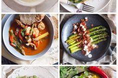 Pikantna zupa tajska z makaronem / Spicy Thai noodle soup - Blog Karmelowy - kulinaria, lifestyle i uroda Ratatouille, Healthy Eating, Ethnic Recipes, Blog, Eating Healthy, Healthy Diet Foods, Clean Foods, Healthy Dieting, Eating Clean