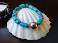 Turquoise and Sterling Silver by LotusBlossomJewellry on Etsy