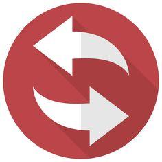 回転する矢印