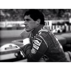 Ayrton Senna...