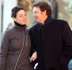 Mary McCartney and Paul McCartney