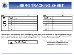 Blank Volleyball Lineup Sheets Printable  Volleyball Drills