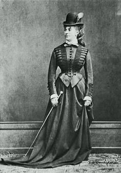 riding habit, Costume, Fashion 1870, Germany