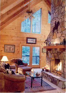 Log Home - Log Cabin Homes