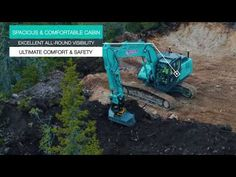 Download video - Kobelco SK210LC-10, Norway Sale Promotion, Download Video, Heavy Equipment, Norway, Online Business, Europe, Construction, Youtube, Bohemia