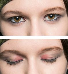 Le maquillage des yeux Armani automne hiver 2013 2014 - Cosmopolitan.fr