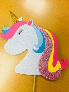 Nunca más aburrido: Como hacer adornos de unicornio en foamy para fiestas Baby Deco, Unicorns And Mermaids, Ideas Para Fiestas, Unicorn Party, Birthday Parties, Crafts For Kids, Baby Shower, Emilio, Samara