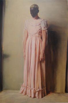 Michael Borremans The Angel, 2013 - Painting Lucrèce Borgia, Michael Borremans, Dallas Museums, Manet, Foto Pose, Art Moderne, Figure Painting, Human Painting, Figure Drawing