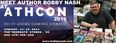 Come out and meet me and some other cool guests this weekend at AthCon in Athens, Georgia. A fun time will be had. My first con of 2016. I hope you'll join us for a fun weekend, January 16 - 18.  www.ath-con.com  #AthCon