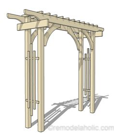 2×4 and More: How to Build a Garden Arbor Using Budget-Friendly Structural Lumber