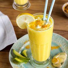 Kurkuma - was du über die Wunderwurzel wissen solltest Smoothie Recipes For Kids, Healthy Juice Recipes, Juicer Recipes, Healthy Juices, Healthy Breakfast Recipes, Healthy Foods To Eat, Healthy Drinks, Kiwi Smoothie, Mango Smoothie Healthy