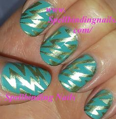 I love this Manicure! - http://www.spellbindingnails.com/2012/07/bundle-monster-manicure-loads-of.html