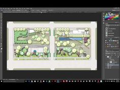 Plan Rendering in Color Using Photoshop - Tutorial 1: Layer Setup - YouTube