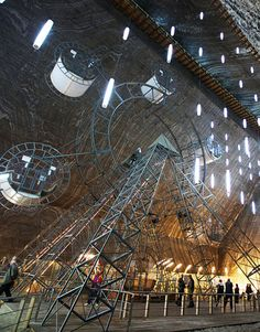 In Romania, one of the world's oldest salt mines is now a modern amusement park