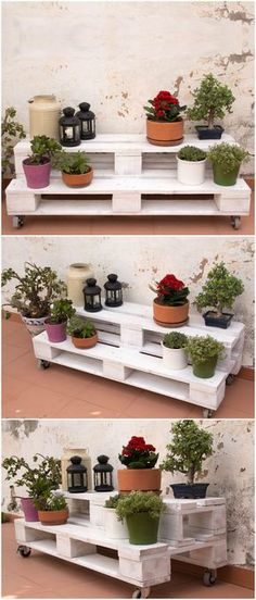 Jardinera de palets con ruedas. Jardinera hecho con palets. Jardinera palets jardín. Muebles con palets mesas. Mueble de palets. Pallet Gardener with wheels. Gardener made with pallets. Gardener pallets garden. Furniture with pallet tables. Furniture of pallets.